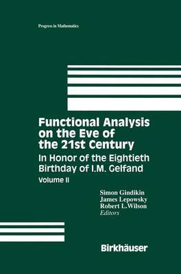 Functional Analysis on the Eve of the 21st Century image
