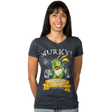 Heroes of the Storm Murky's Pufferfish Tacos Woman's Tee (Large)