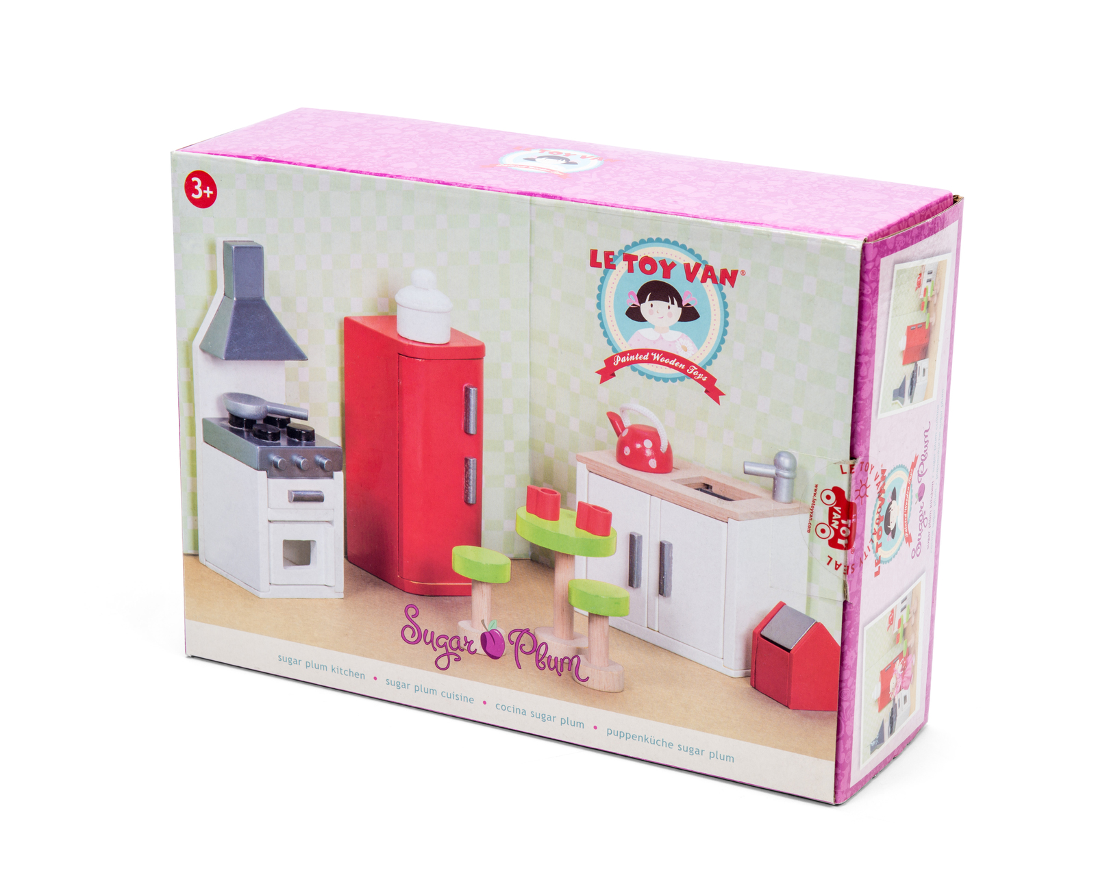 Le Toy Van: Sugar Plum Kitchen Furniture Set