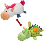 Flip A Zoo: Unicorn & Dragon - 40cm