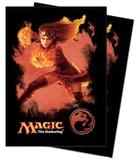 Magic: Mana 4 Deck Protectors - Chandra