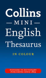 Collins Mini Thesaurus by Collins Dictionaries image