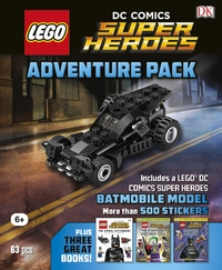 LEGO DC Comics: Adventure Pack (Sticker Books, Model)
