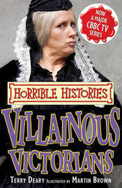Villainous Victorians by Terry Deary image
