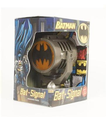 Batman: Metal Die-Cast Bat-Signal by Running Press