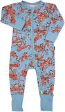 Bonds Zip Wondersuit Long Sleeve - Lilo Leopard - Premature