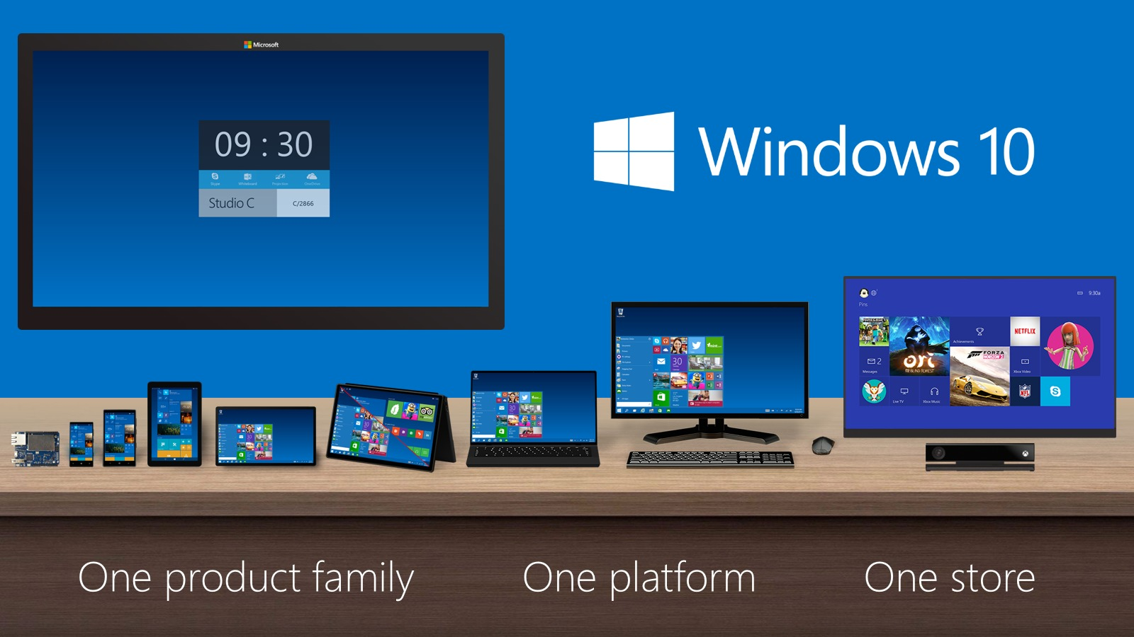 Microsoft Windows 10 Home 64-bit & 32-bit image