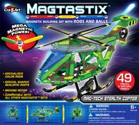 Magtastix: Magnetic Building Set - Helicopter image