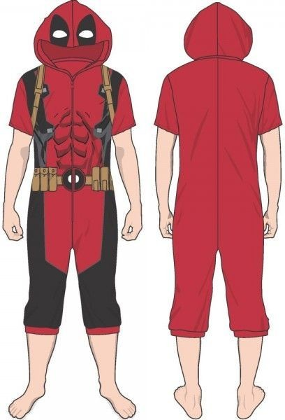 Deadpool Cropped Union Suit (L) image