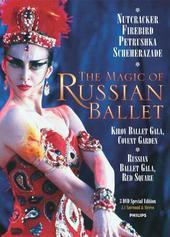 The Magic of the Russian Ballet, The (Nutcracker / Firebird / Petrushka / Scheherazade / etc) (3 Disc Set) on DVD