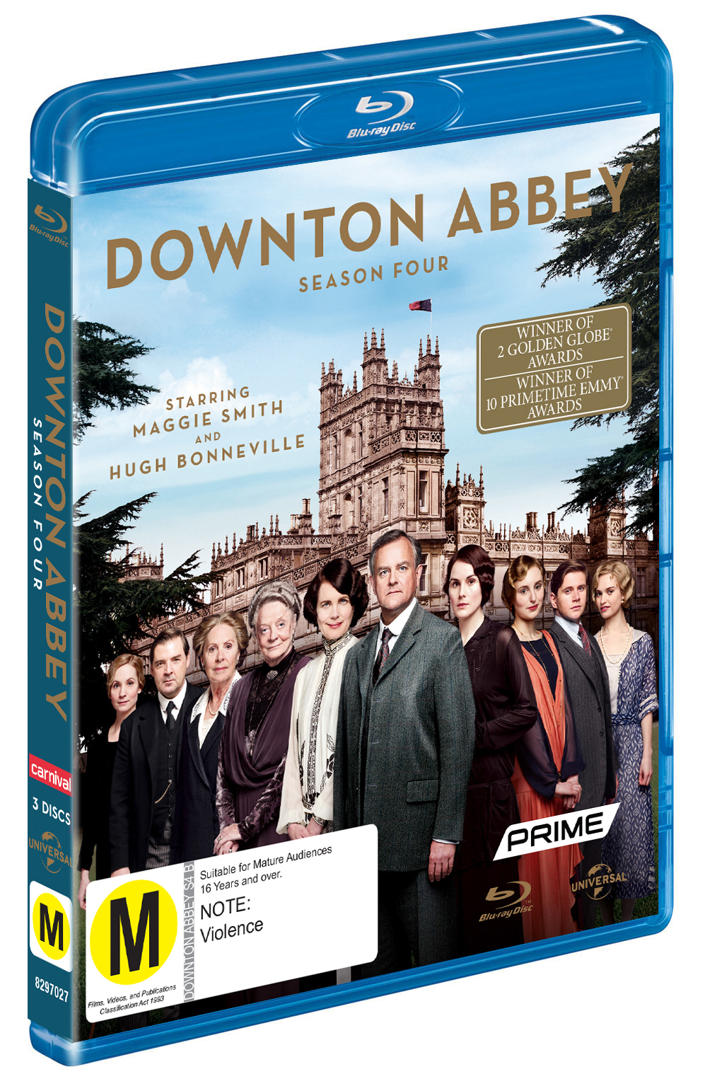 Downton Abbey - The Complete Fourth Season on Blu-ray image