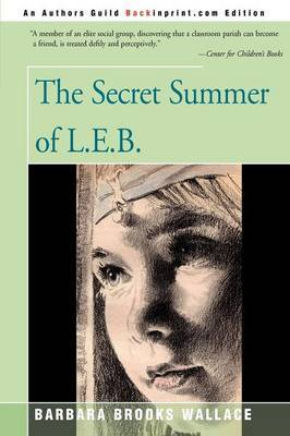 The Secret Summer of L.E.B. by Barbara Brooks Wallace image