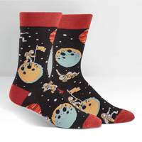 Mens - A Sock Odyssey Crew Socks