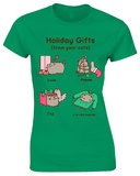 Pusheen Holiday Gifts T-Shirt (Small)
