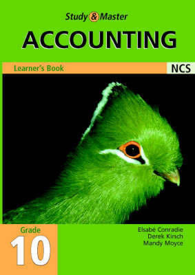 Study and Master Accounting Grade 10 Learner's Book: Grade 10 by Elsabe Conradie image