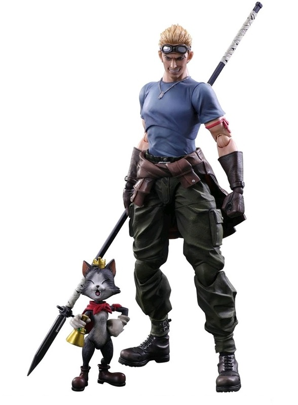 Final Fantasy VII: Cid Highwing & Cait Sith - Play Arts Kai Figure