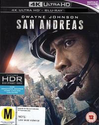 San Andreas on Blu-ray, UHD Blu-ray