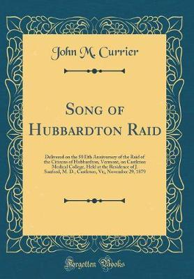 Song of Hubbardton Raid by John M Currier