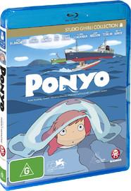 Ponyo on Blu-ray