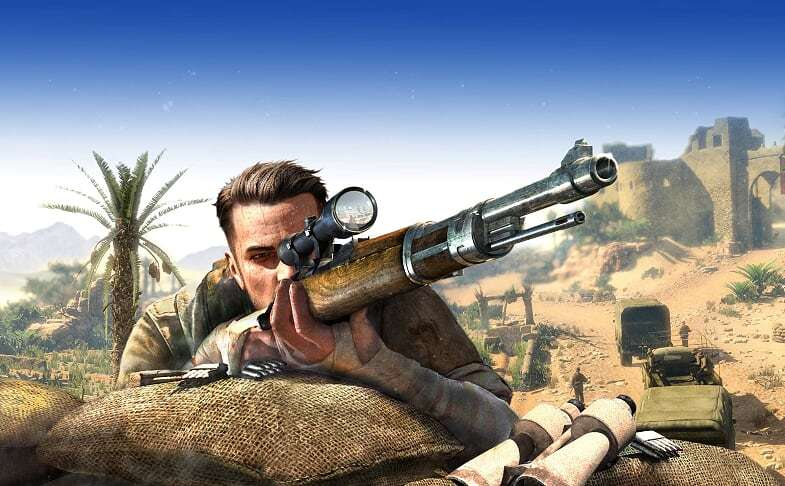 Sniper Elite 3 Ultimate Edition for Switch image