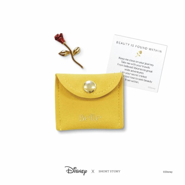 Disney: Trinkets Pouch - Beauty & the Beast