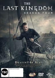 The Last Kingdom - Season 4 on DVD