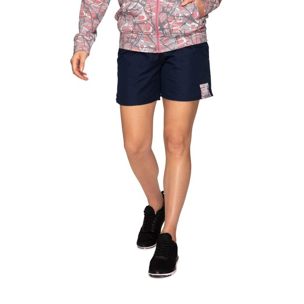 "Canterbury: Womens Camo Logo Tactic Short 5.9"" - Navy (Size 8)"