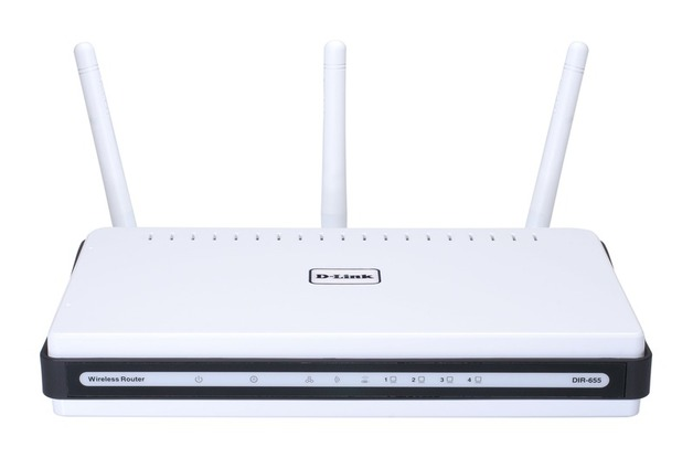 D-Link DI-655, XTREME-N WIRELESS ROUTER, GIGABIT LAN/WAN PORTS, QOS