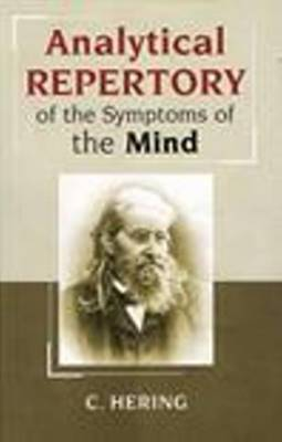 Analytical Repertory of the Symptoms of the Mind by Constantine Hering