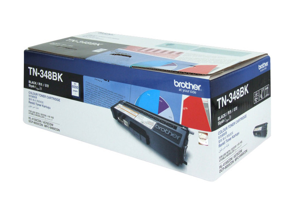 Brother TN-348BK High Yield Toner (Black)