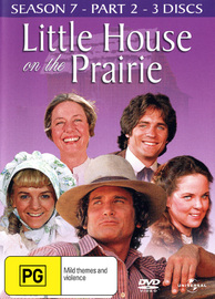 Little House on the Prairie - Season 7 Part 2 (3 Disc Set) on DVD