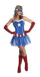 Marvel American Dream Women's Costume (Small)