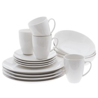 Maxwell & Williams - White Basics Coupe Dinner Set (16 Piece)