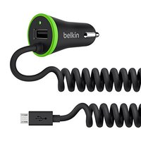 Belkin - USB Car Charger with Micro USB Cable