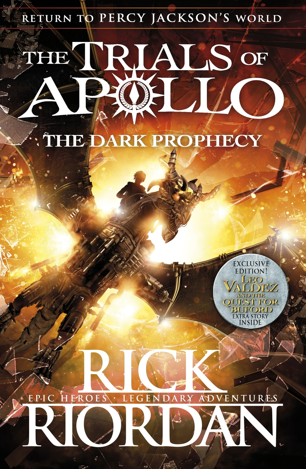 The Dark Prophecy (The Trials of Apollo Book 2) by Rick Riordan image