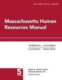 Massachusetts Human Resources Manual by Patrick Curran