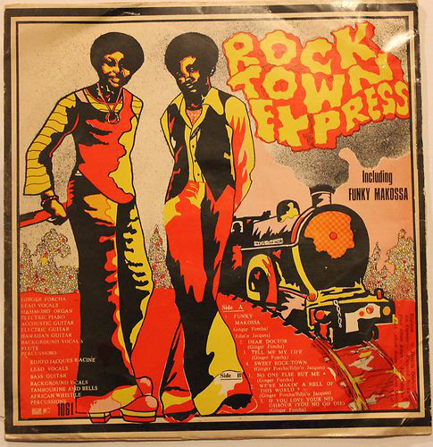 Funky Makossa (LP) by Rock Town Express