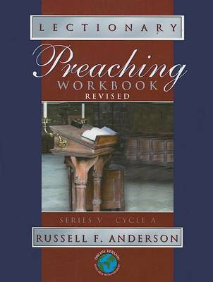 Lectionary Preaching Workbook by Russell F Anderson image