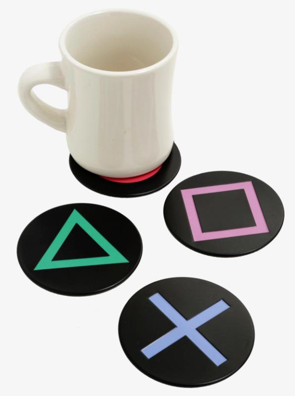 PlayStation Metal Coasters 4-Pack