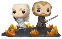 Game of Thrones: Daenerys & Jorah (Back to Back) - Pop! Movie Moment Figure image