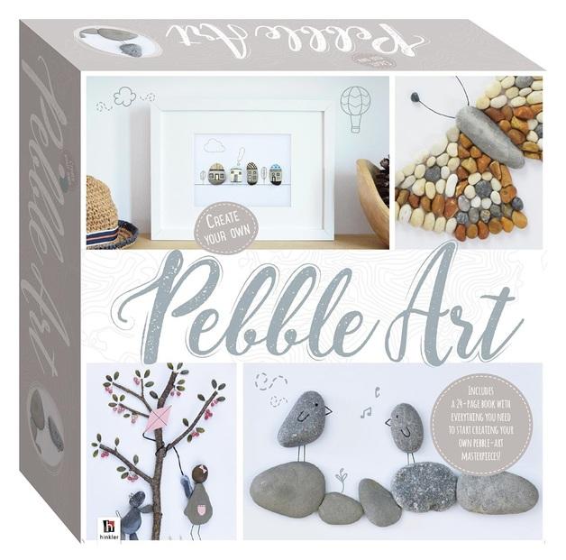 Hinkler: Create Your Own Pebble Art - Box Set