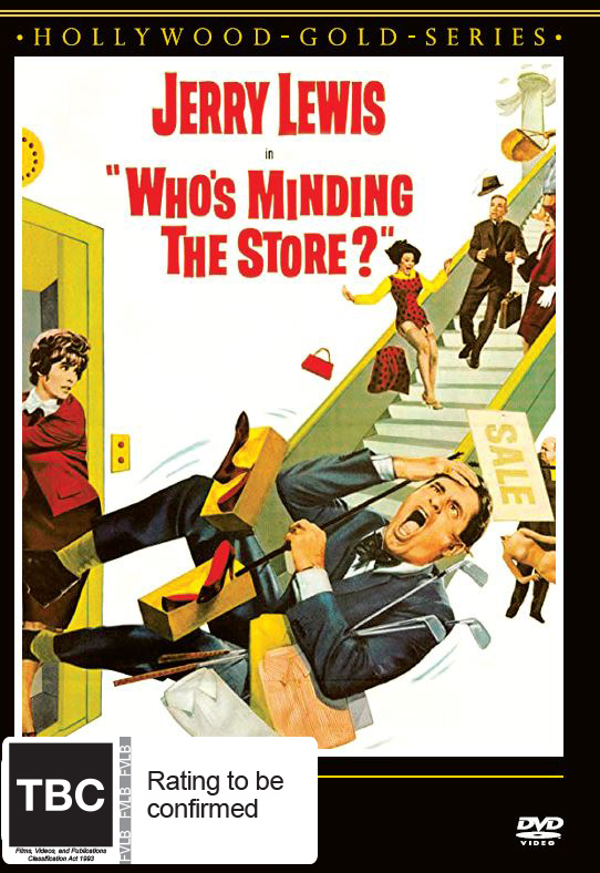Who's Minding The Store? on DVD