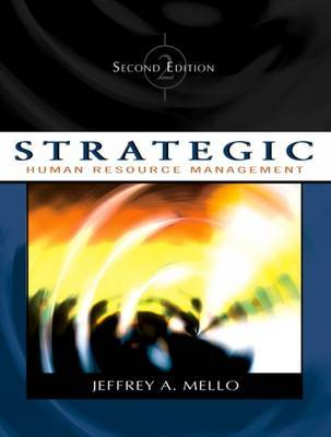 Strategic Human Resource Management by Jeffrey A Mello image