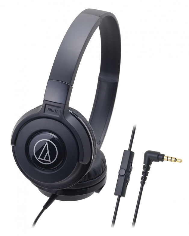 Audio-Technica ATH-S100iS DJ Headphones (Black)