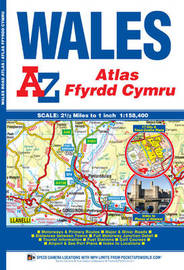 Wales Regional Road Atlas by Geographers A-Z Map Company
