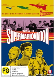 Filmed In Supermarionation on DVD image