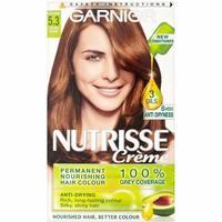 Garnier Nutrisse Permanent Nourishing Hair Colour - 5.3 Chestnut