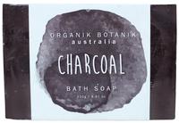 Organik Botanik Splotch Soap - Charcoal (250g)