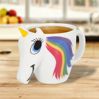 Thumbs Up: Unicorn - Colour Changing Mug