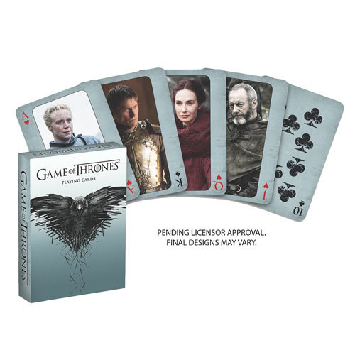 Game of Thrones: 2nd Edition Playing Cards